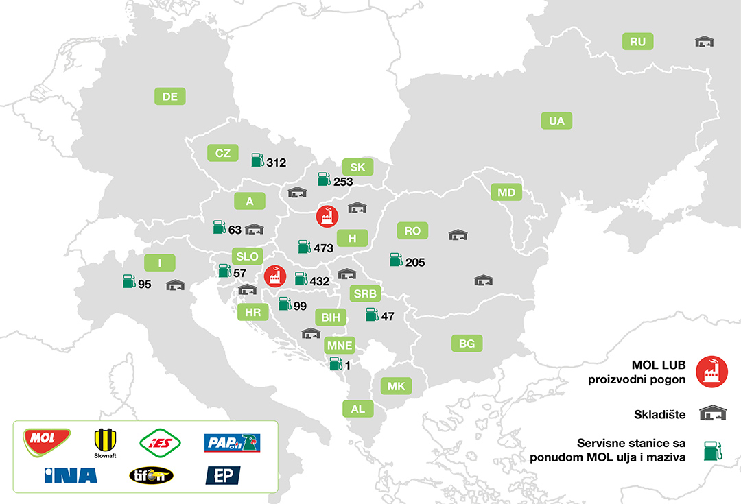 mol pumpe srbija mapa O nama   MOL Serbia mol pumpe srbija mapa